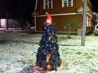 006 Renna jõulupuu installatsioon. Foto: Urmas Saard