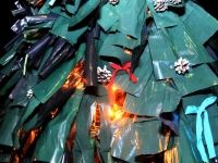 008 Renna jõulupuu installatsioon. Foto: Urmas Saard