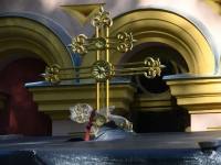 033 Rist Sindi kiriku sammaskojale. Foto: Urmas Saard