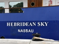005 Ristluslaev Hebridean Sky Pärnu kesklinna kai ääres. Foto Urmas Saard
