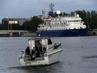 012 Ristluslaev Hebridean Sky Pärnu kesklinna kai ääres. Foto Urmas Saard