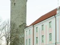 004 Sada aastat Eesti riigilipu heiskamisest Pika Hermanni torni. Foto: Peeter Hütt