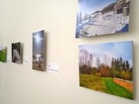 Fotod näitusel Jõgeva kultuurikeskuses. Foto: Jaan Lukas