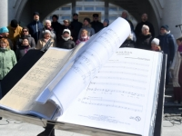 005 Segakoor Endla tähistab Pärnus oma 141. aastapäeva. Foto: Urmas Saard