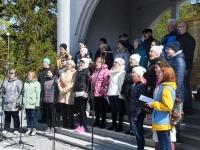 009 Segakoor Endla tähistab Pärnus oma 141. aastapäeva. Foto: Urmas Saard