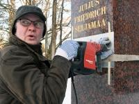006 Seljamaa allkiri graniidil. Foto: Urmas Saard