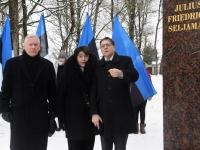 096 Seljamaa monumendi avamine. Foto: Urmas Saard