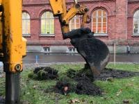 003 Seljamaa monumendi püstitamine. Foto: Urmas Saard