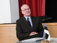 004 Rein Koch, seminar Tartu rahulepingu sõlmimise 100. aastapäeva raames Pärnus. Foto: Urmas Saard