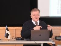 007 Jüri Estam, seminar Tartu rahulepingu sõlmimise 100. aastapäeva raames Pärnus. Foto: Urmas Saard