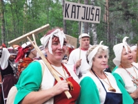 008 Seto Kuningriigi päeva sõjväe paraad. Foto: Urmas Saard