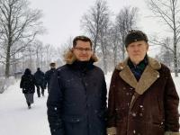001 Marko Šorin ja Matti Päts Tahkurannas. Foto: erakogu