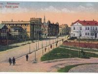 003 Rüütli plats ja Rüütli tänav ajaloolisel fotol. Foto: Marko Šorini kogust