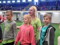 002 Sindi gümnaasiumi 1. ja 2. klassi segarühm Tallinnas. Foto: Urmas Saard
