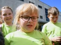 012 Sindi gümnaasiumi 1. ja 2. klassi segarühm Tallinnas. Foto: Urmas Saard