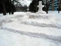 002 Sindi gümnaasiumi lumelinna päev 2011. a 3. veebruaril.  Foto: Urmas Saard