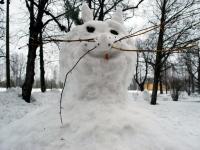 004 Sindi gümnaasiumi lumelinna päev 2011. a 3. veebruaril.  Foto: Urmas Saard