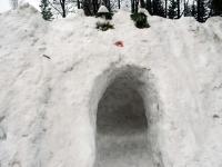 008 Sindi gümnaasiumi lumelinna päev 2011. a 3. veebruaril.  Foto: Urmas Saard