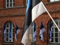 002 Sindi gümnaasiumi õpilaskonverents Eesti lipp 135. Foto: Urmas Saard