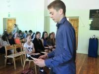 030 Sindi gümnaasiumi õppeaasta lõpuaktusel. Foto: Urmas Saard