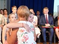 049 Sindi gümnaasiumi põhikooliastme lõpetajate aktus 2019. Foto: Urmas Saard