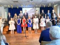 051 Sindi gümnaasiumi põhikooliastme lõpetajate aktus 2019. Foto: Urmas Saard