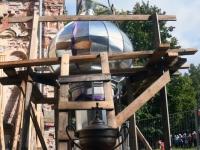 011 Sindi kiriku kellatorni kupli ja risti paigaldamine. Foto: Urmas Saard