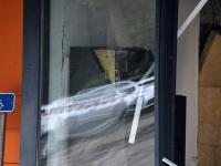 012 Sindi Konsum pärast öist plahvatust SEB pangaautomaadi juures. Foto: Urmas Saard / Külauudised
