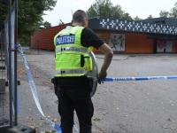 016 Sindi Konsum pärast öist plahvatust SEB pangaautomaadi juures. Foto: Urmas Saard / Külauudised