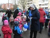 009 Sindi lasteaed tähistab koduriigi 102. sünnipäeva. Foto: Urmas Saard