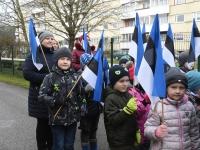 011 Sindi lasteaed tähistab koduriigi 102. sünnipäeva. Foto: Urmas Saard