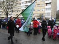013 Sindi lasteaed tähistab koduriigi 102. sünnipäeva. Foto: Urmas Saard