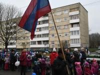 014 Sindi lasteaed tähistab koduriigi 102. sünnipäeva. Foto: Urmas Saard