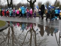 023 Sindi lasteaed tähistab koduriigi 102. sünnipäeva. Foto: Urmas Saard