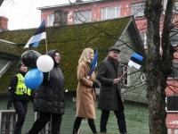 025 Sindi lasteaed tähistab koduriigi 102. sünnipäeva. Foto: Urmas Saard