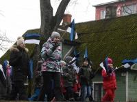 026 Sindi lasteaed tähistab koduriigi 102. sünnipäeva. Foto: Urmas Saard