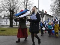 031 Sindi lasteaed tähistab koduriigi 102. sünnipäeva. Foto: Urmas Saard