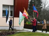 041 Sindi lasteaed tähistab koduriigi 102. sünnipäeva. Foto: Urmas Saard