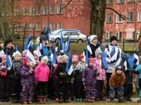 042 Sindi lasteaed tähistab koduriigi 102. sünnipäeva. Foto: Urmas Saard
