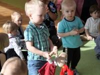 013 Sindi lasteaia 125. sünnipäeva pidu sõimerühma mudilastega. Foto: Urmas Saard