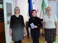 006 Sindi linnaraamatukogu tunnustab väikseid joonistajaid. Foto: Urmas Saard