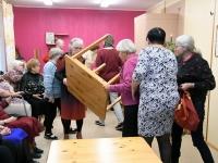 013 Sindi naisliidu pidu sotsiaaltöökeskuses. Foto: Urmas Saard