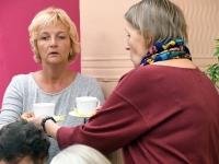 016 Sindi naisliidu pidu sotsiaaltöökeskuses. Foto: Urmas Saard