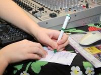 013 Sindi Raadio otse-eetris. Foto: Urmas Saard