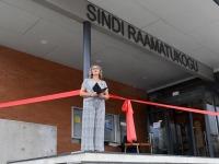 005 Sindi raamatukogu avamine. Foto: Urmas Saard / Külauudised