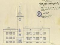 017 Sindi raekoja vaated ajalooarhiivist