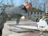 005 Varmo Juurikas, Sindi skatepark täieneb kahe opstaakliga. Foto: Urmas Saard