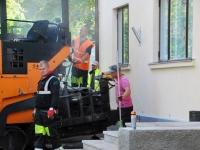 005 Sindi tervisekeskuse esise asfalteerimine