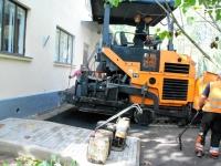 008 Sindi tervisekeskuse esise asfalteerimine