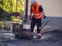 010 Sindi tervisekeskuse esise asfalteerimine